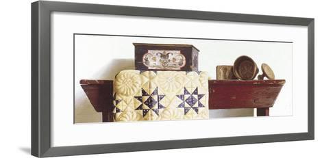 Buttermolds (detail)-Pauline Ebl? Campanelli-Framed Art Print