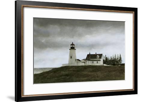 Evening at Pemaquid-Douglas Brega-Framed Art Print