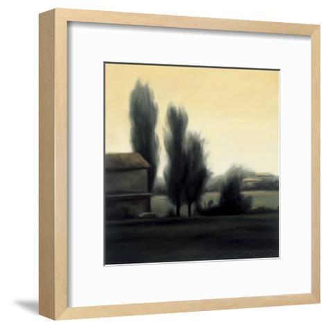 Farm in Emilia Romagna-Mallory Lake-Framed Art Print