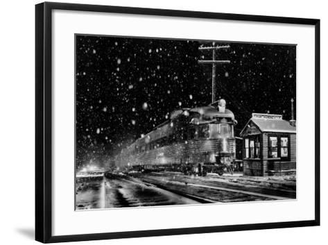 Denver and Rio Grande Western's-Mel Patrick-Framed Art Print