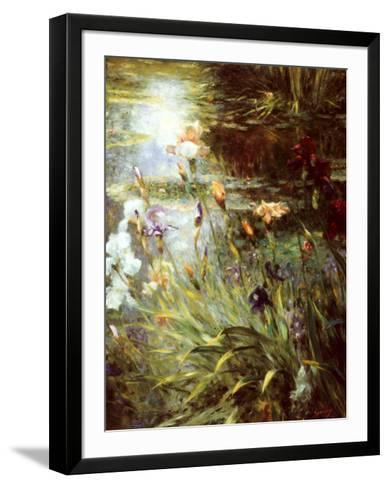 Water Garden Symphony II-Greg Singley-Framed Art Print