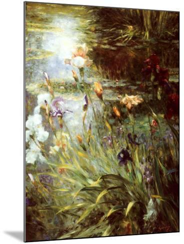 Water Garden Symphony II-Greg Singley-Mounted Art Print