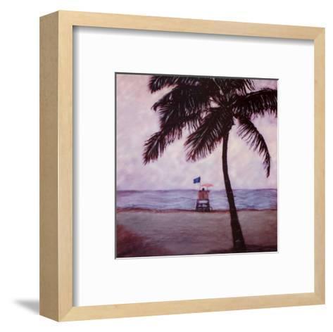 Lifeguard-Joe Gemignani-Framed Art Print