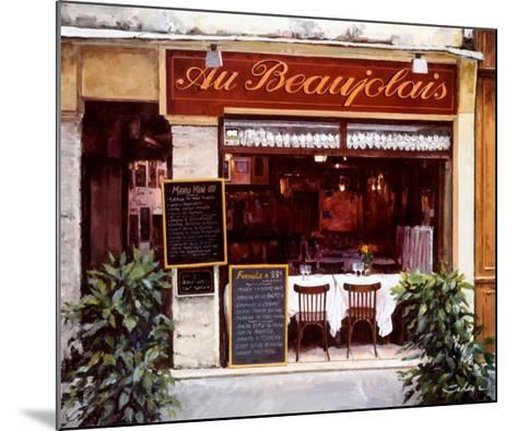 Restaurant au Beaujolais-Robert Schaar-Mounted Art Print