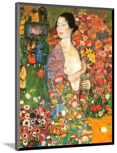 Die Tanzerin-Gustav Klimt-Mounted Art Print