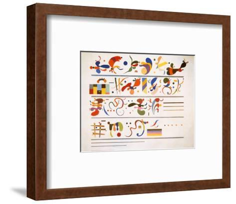 Succession, c.1935-Wassily Kandinsky-Framed Art Print