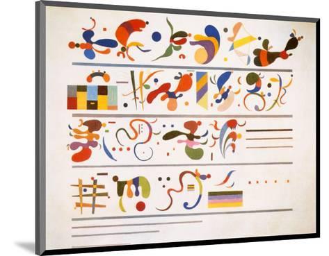Succession, c.1935-Wassily Kandinsky-Mounted Art Print