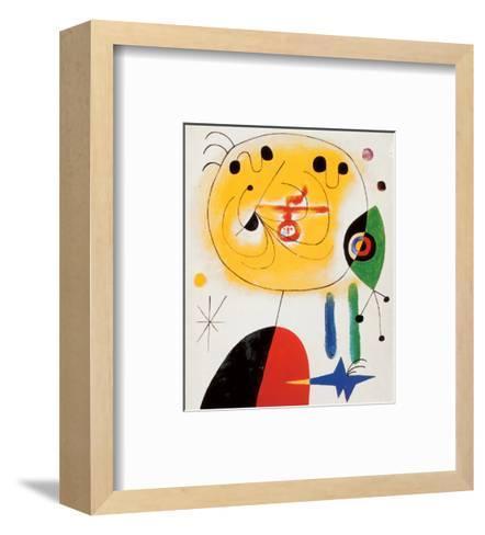 Et Fixe Les Cheveux d'une Etoile-Joan Mir?-Framed Art Print