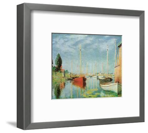 Barche Sportive-Claude Monet-Framed Art Print