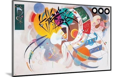 Dominant Curve, c.1936-Wassily Kandinsky-Mounted Art Print
