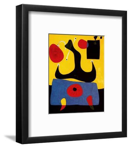 Femme Assise-Joan Mir?-Framed Art Print