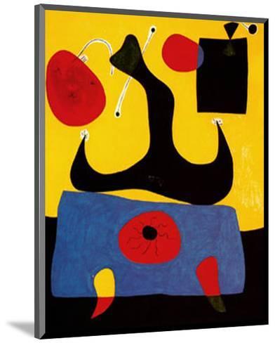 Femme Assise-Joan Mir?-Mounted Art Print