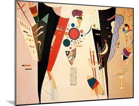 Reciprocal Agreement, c.1942-Wassily Kandinsky-Mounted Art Print