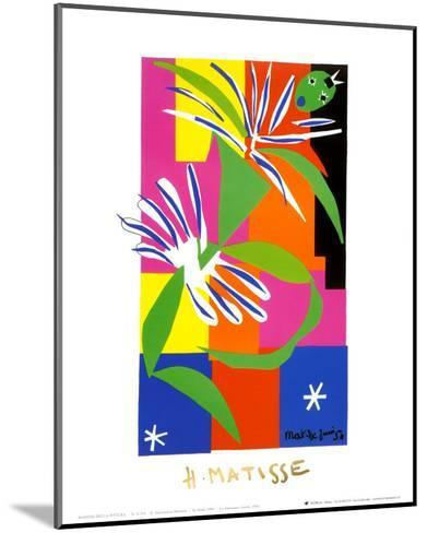 Creole Dancer, c.1947-Henri Matisse-Mounted Art Print