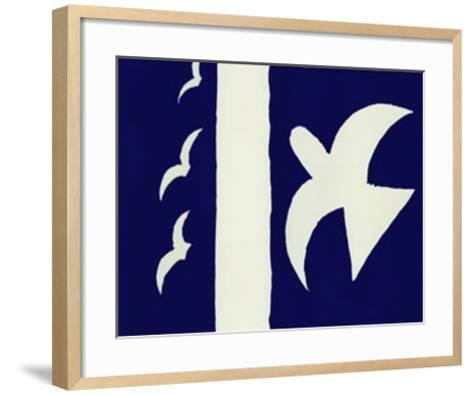 Oiseaux-Georges Braque-Framed Art Print