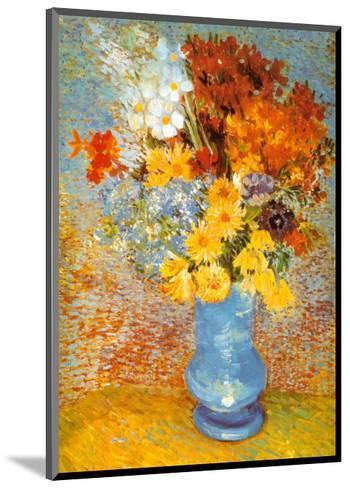 Vase of Flowers, c.1887-Vincent van Gogh-Mounted Art Print