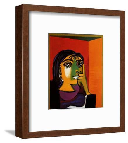 Dora Maar-Pablo Picasso-Framed Art Print