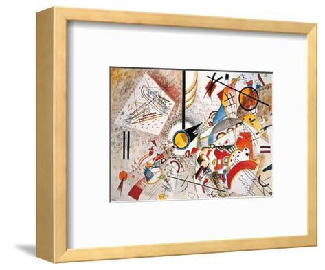Bustling Aquarelle, c.1923-Wassily Kandinsky-Framed Art Print