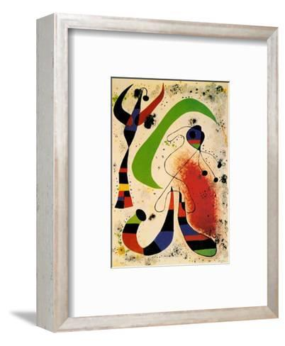 Night-Joan Mir?-Framed Art Print