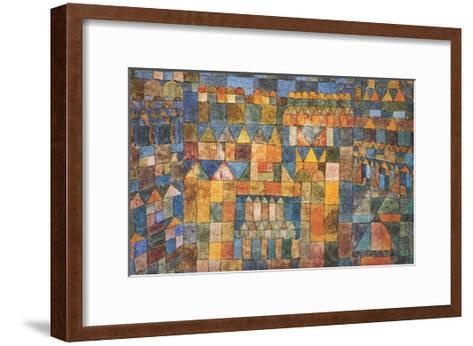 Tempelviertel von Pert, c.1928-Paul Klee-Framed Art Print