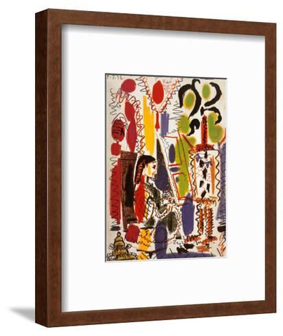 L'Atelier a Cannes-Pablo Picasso-Framed Art Print