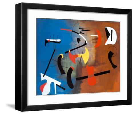 Peinture Composition-Joan Mir?-Framed Art Print