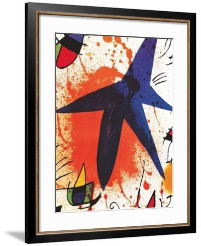 L'Etoile Bleu-Joan Mir?-Framed Art Print