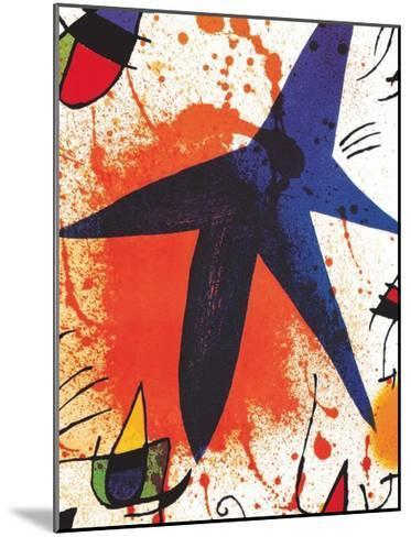L'Etoile Bleu-Joan Mir?-Mounted Art Print