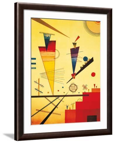 Merry Structure-Wassily Kandinsky-Framed Art Print