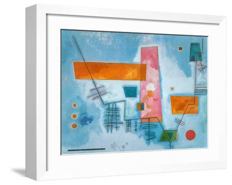 Structure Angulaire-Wassily Kandinsky-Framed Art Print