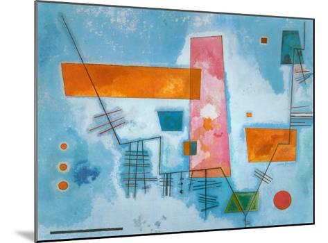 Structure Angulaire-Wassily Kandinsky-Mounted Art Print