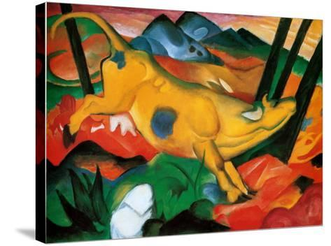 Gelbe Kuh, c.1911-Franz Marc-Stretched Canvas Print