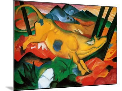 Gelbe Kuh, c.1911-Franz Marc-Mounted Art Print