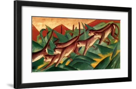 Affenfries, 1911-Franz Marc-Framed Art Print