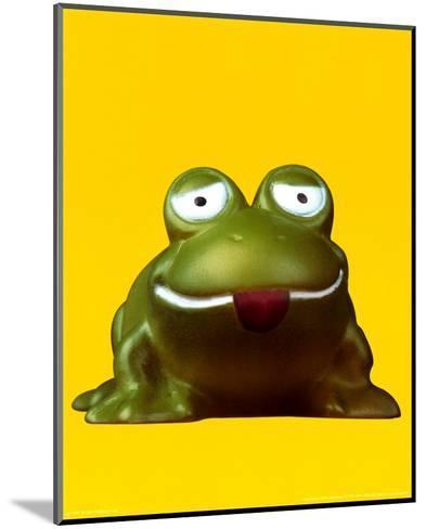 Frog--Mounted Art Print