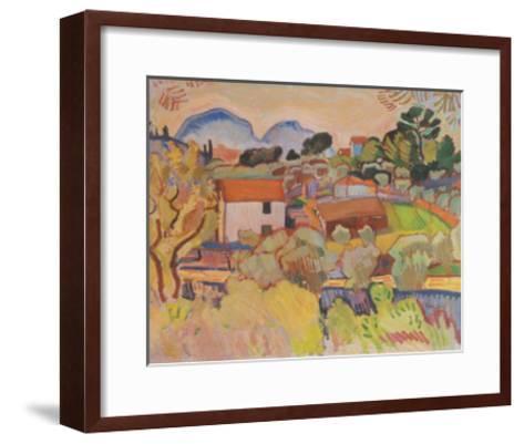 Riviere-Raoul Dufy-Framed Art Print
