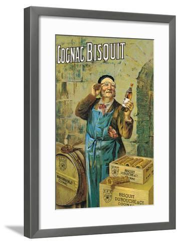 Cognac Bisquit--Framed Art Print