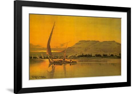 Spend This Winter in Egypt-M^ Tamplough-Framed Art Print