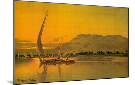 Spend This Winter in Egypt-M^ Tamplough-Mounted Art Print