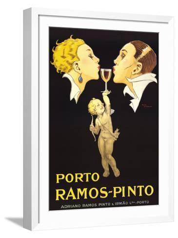 Porto Ramos-Pinto-Ren? Vincent-Framed Art Print