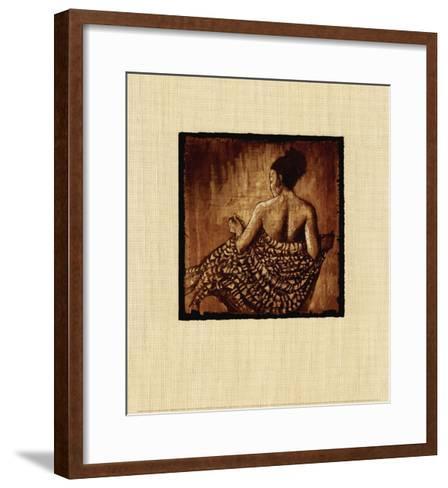 Wrapped in the Glow-Monica Stewart-Framed Art Print