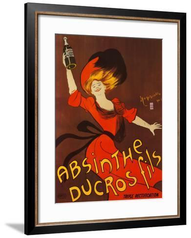Absinthe Ducros Fils-Leonetto Cappiello-Framed Art Print