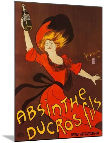 Absinthe Ducros Fils-Leonetto Cappiello-Mounted Art Print