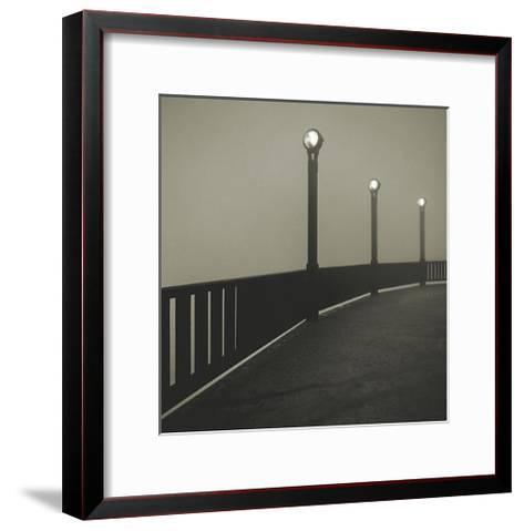 Golden Gate Bridge Study V-Michael Kenna-Framed Art Print