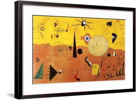 Katalanische Landschaft-Joan Mir?-Framed Art Print