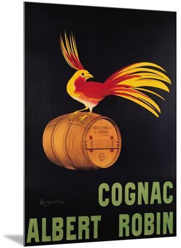 Cognac Albert Robin-Leonetto Cappiello-Mounted Art Print