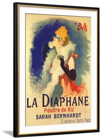 Diaphane-Jules Ch?ret-Framed Art Print