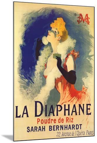 Diaphane-Jules Ch?ret-Mounted Art Print