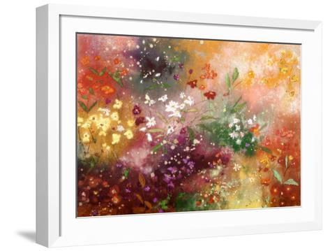Meadow Garden VI-Aleah Koury-Framed Art Print