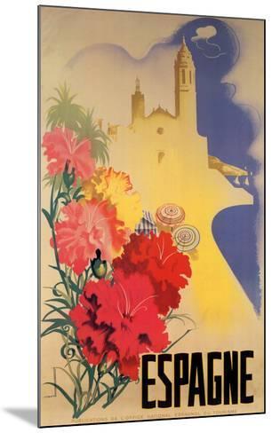 Espagne-Movell-Mounted Art Print